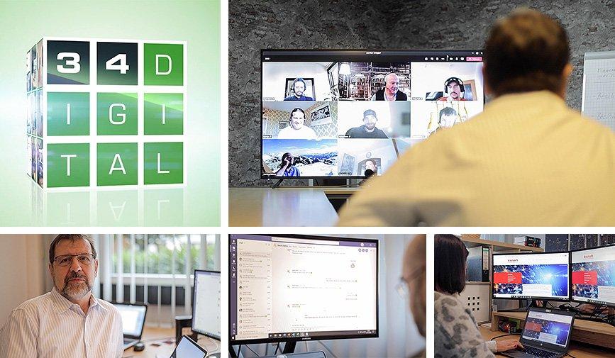 34digital: Drei Säulen für die Digitalisierung auch von KMU