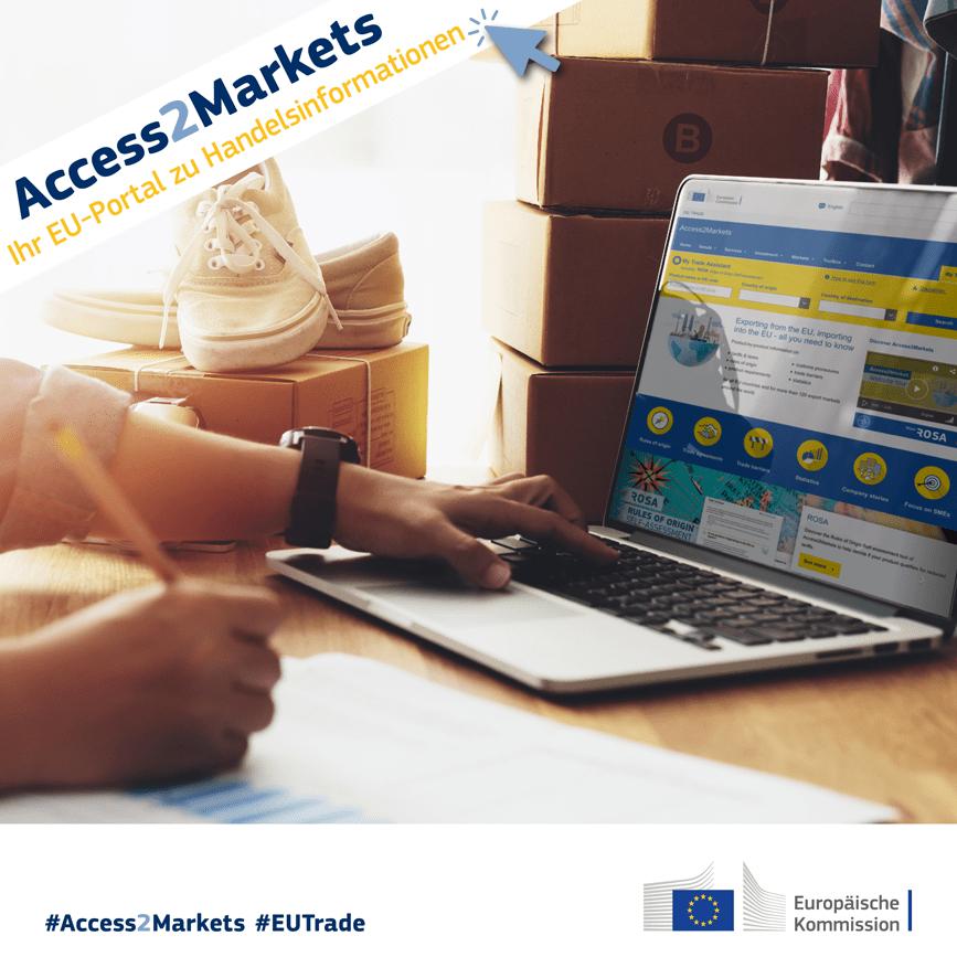#Access2Markets – neues EU-Trade-Portal