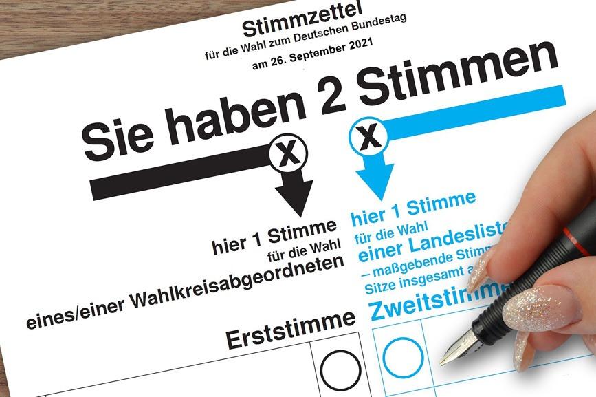 Bundestagwahl 2021: Veröffentlichung der Ergebnisse aller 64 NRW-Wahlkreise