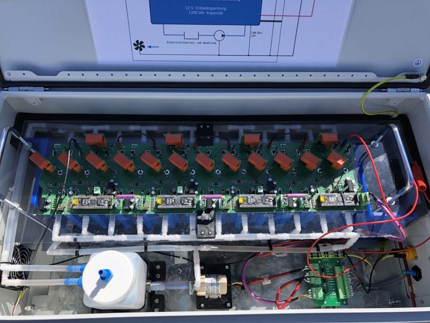 Entwicklung von ZINK-Luft-Akkumulatoren