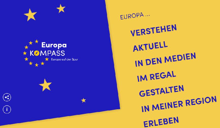Europakompass: Eine Europa-Website für alle