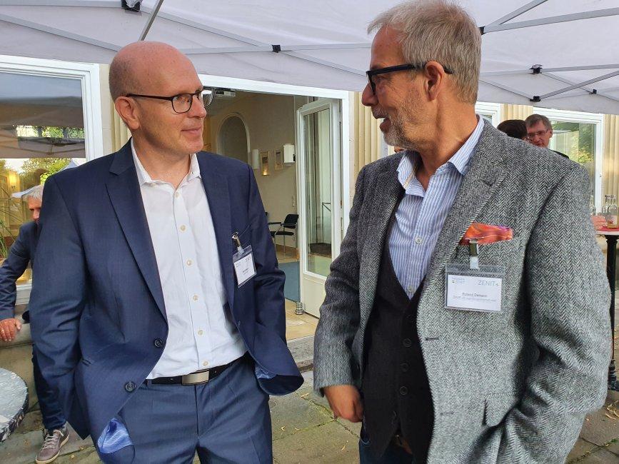 Neue Themen, Projekte und Angebote für den Mittelstand – Netzwerk ZENIT e.V. wächst: Innovationspreisträger Damann entwickelt Sprunginnovation
