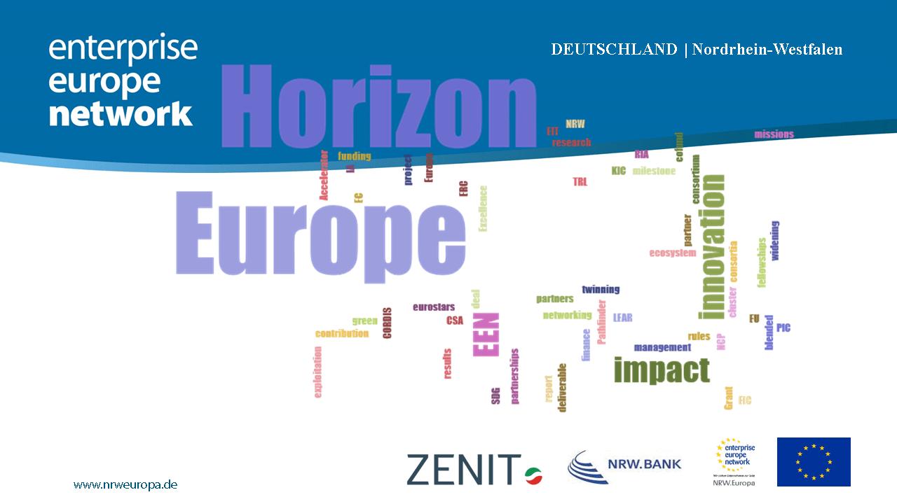 Horizon Europe: verbesserte Innovations- und Forschungsförderung für Unternehmen