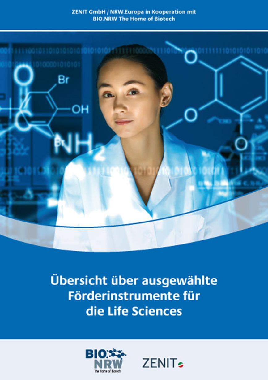 Aktualisierte Broschüre: Übersicht über ausgewählte Förderinstrumente für die Life Sciences