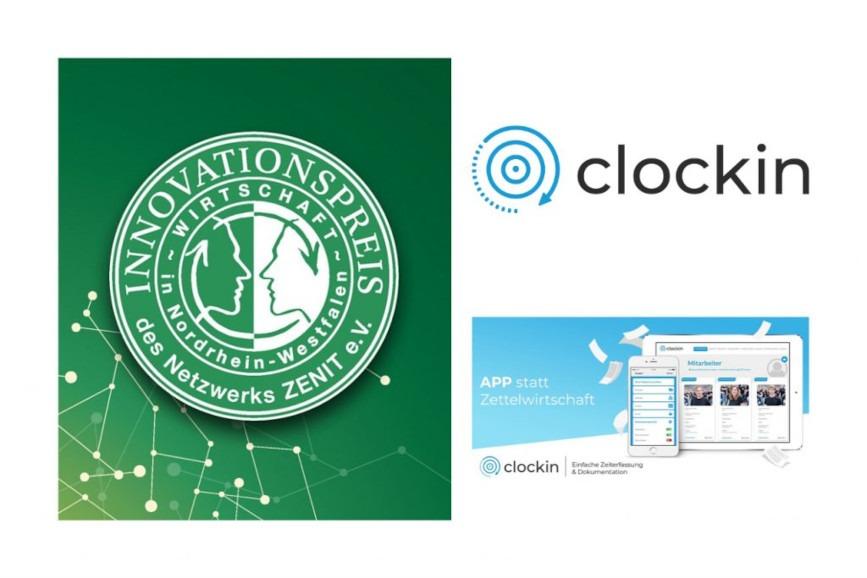 App statt Zettelwirtschaft: Start-up aus dem Münsterland revolutioniert die Zeiterfassung
