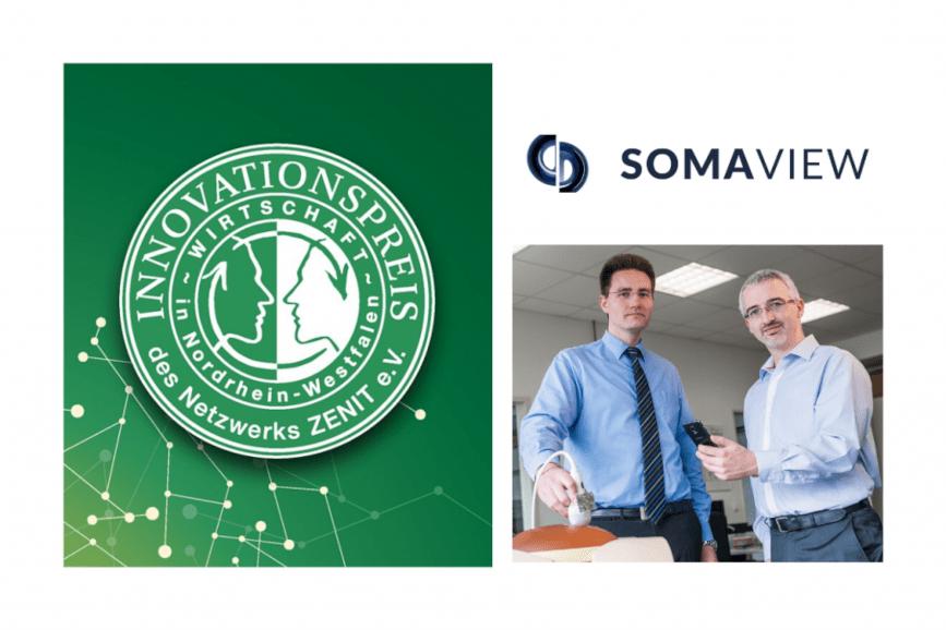 """Innovation im Gesundheitswesen: """"SomaView"""" verbindet """"Augmented Reality"""" (AR) mit dem klassischen Ultraschall-Verfahren"""