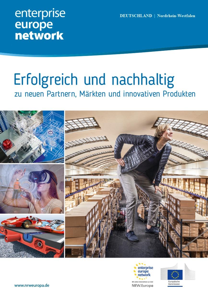 Von A wie Akquisition von Fördermitteln bis Z wie zukunftsfähige Geschäftsmodelle: neue NRW.Europa-Broschüre beschreibt Beratungspraxis