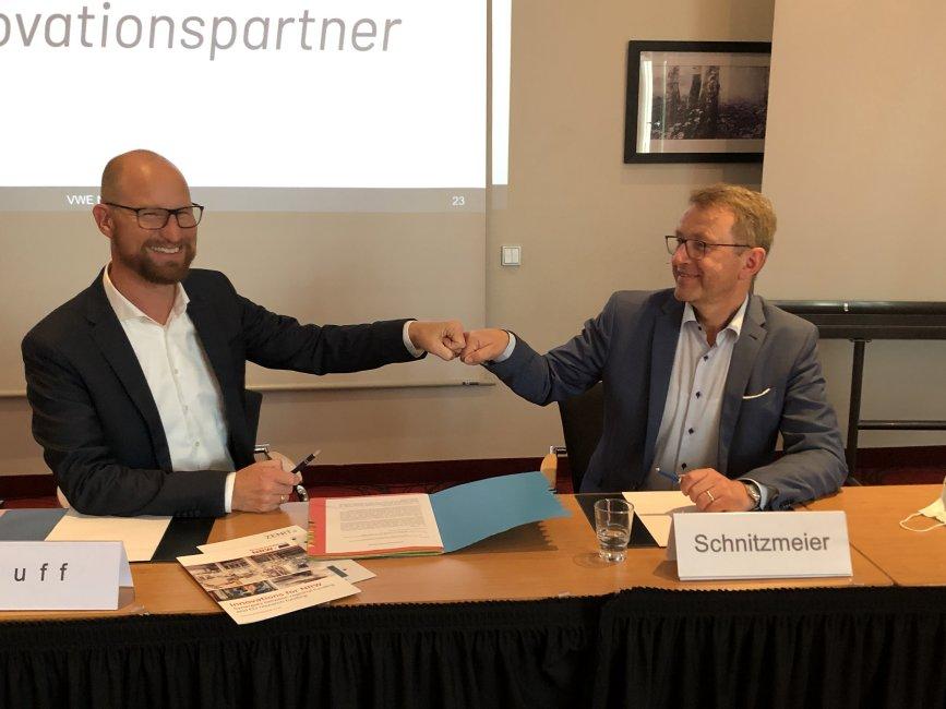 Wirtschaftsförderer und ZENIT beschließen Kooperation: Arbeitsteilige Mittelstandsförderung