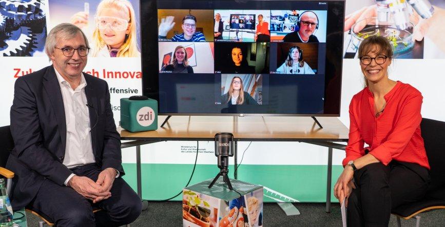 Start der MINT-Community NRW: Social-Media-Plattform für zdi-Akteure/-innen und MINT-Nachwuchs geht online